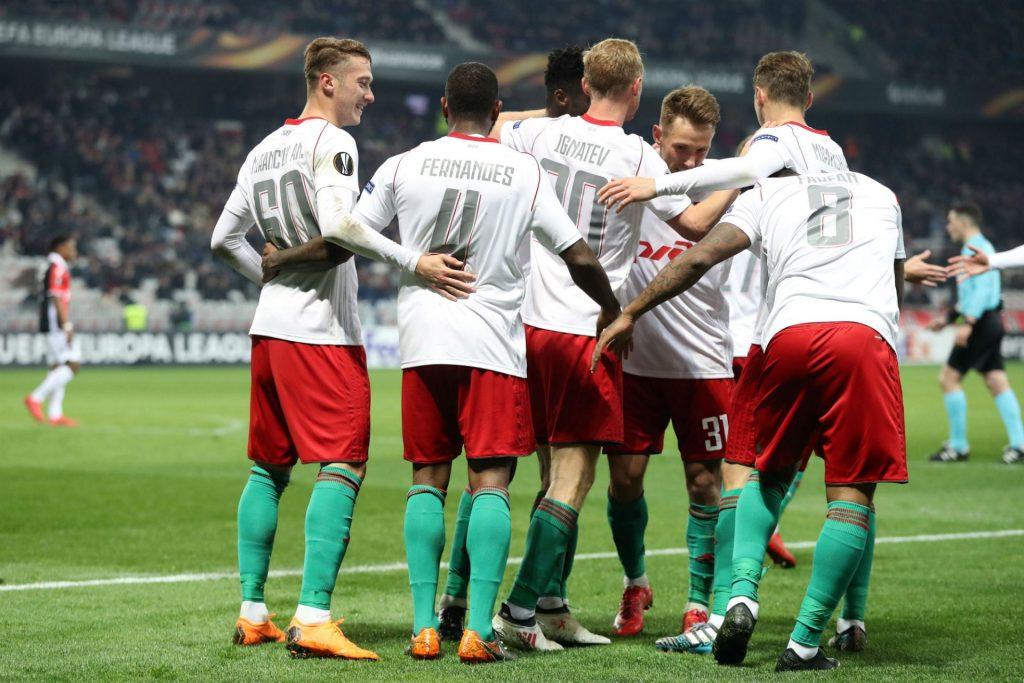 Europa League Atlético Madrid - Lokomotiv Moscow