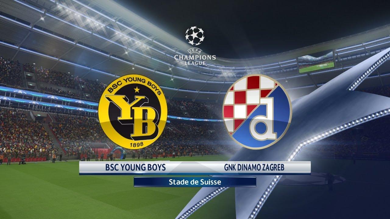 Champions League Young Boys vs Dinamo Zagreb