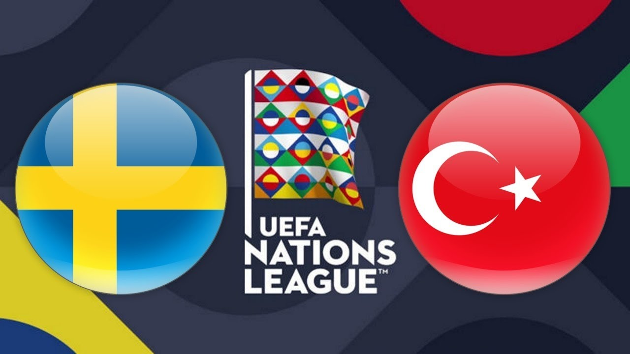 UEFA Nations League Sweden vs Turkey