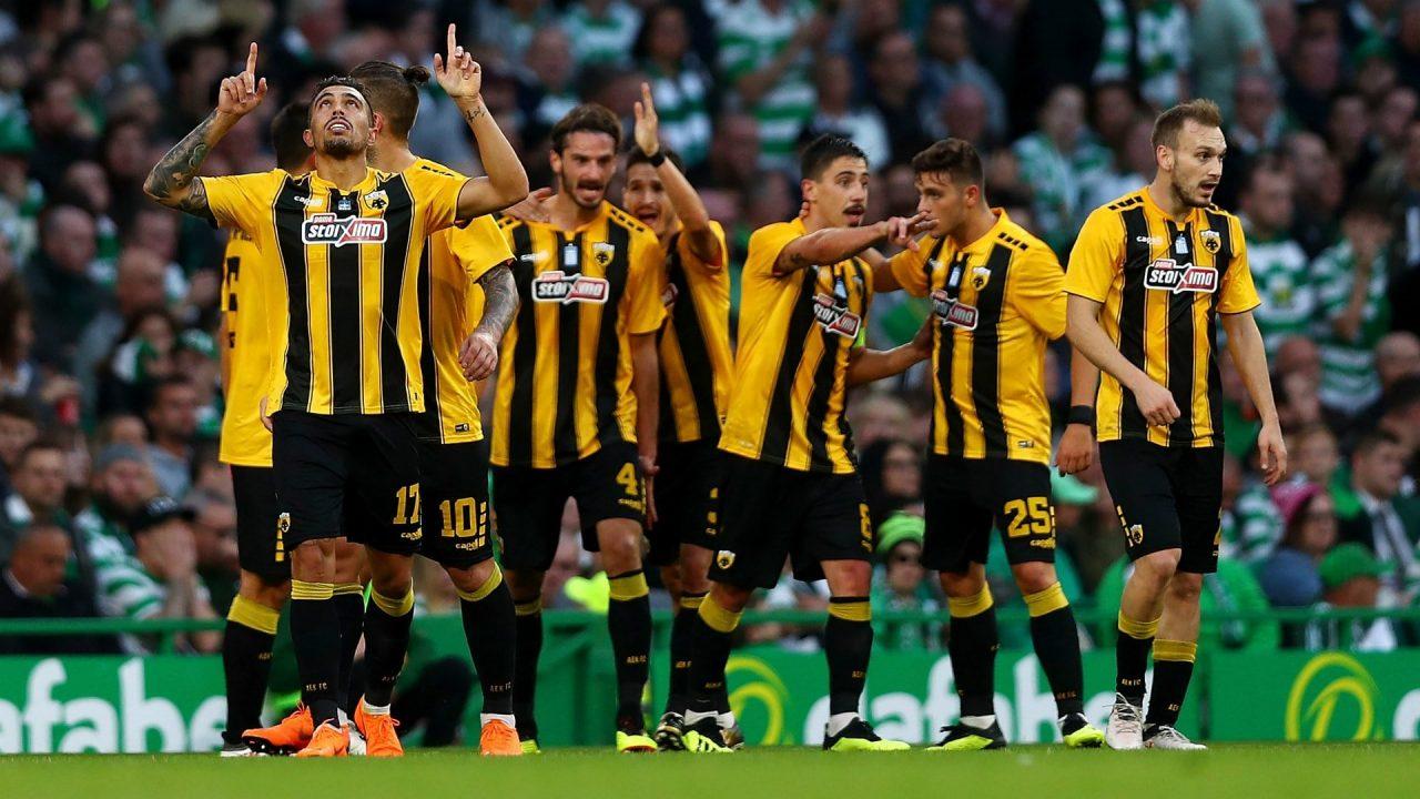 Champions League AEK Athens vs Benfica