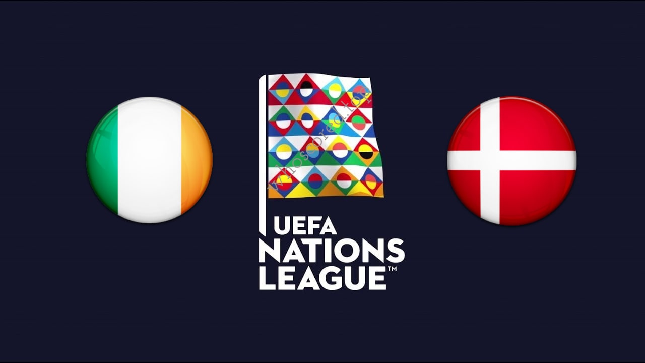 UEFA Nations League Ireland vs Denmark
