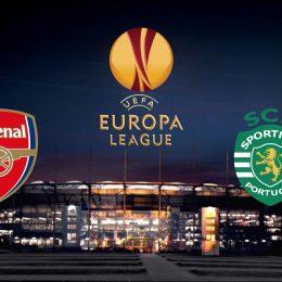 Arsenal vs Sporting Portugal Europa League