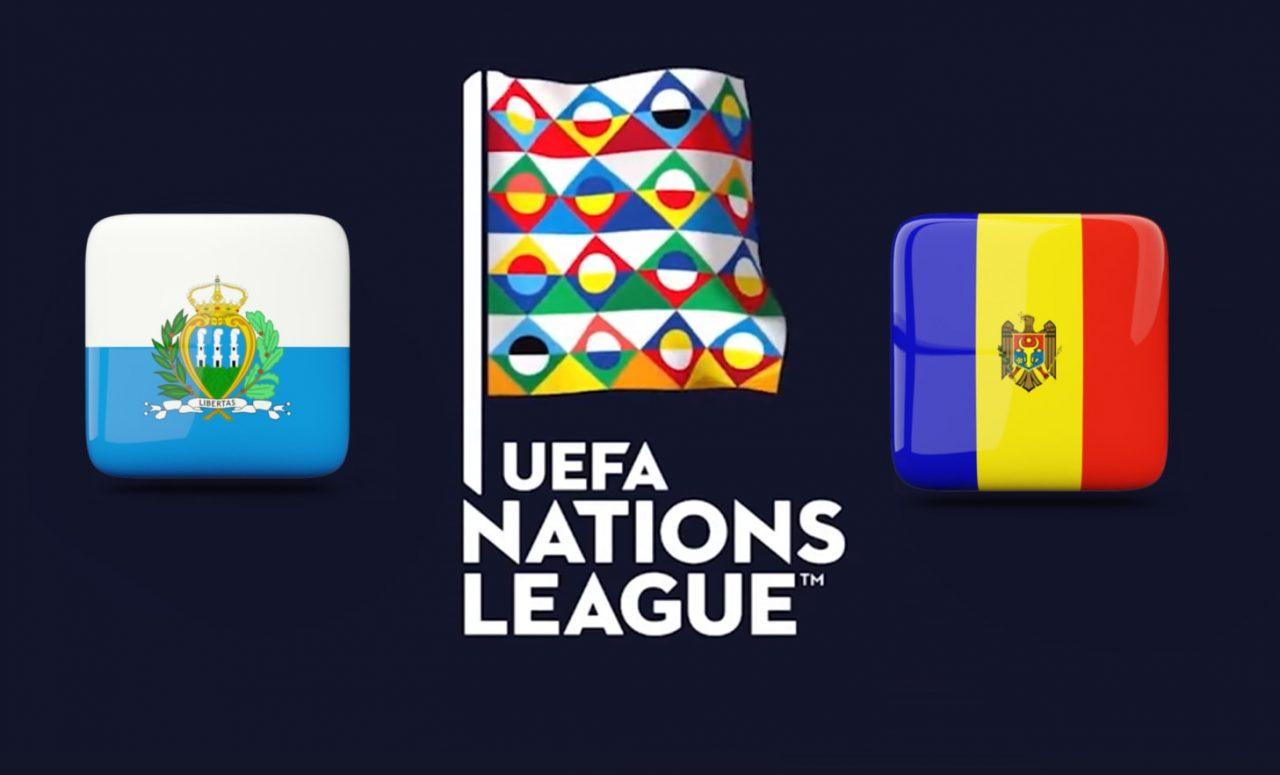San Marino vs Moldova UEFA Nations League