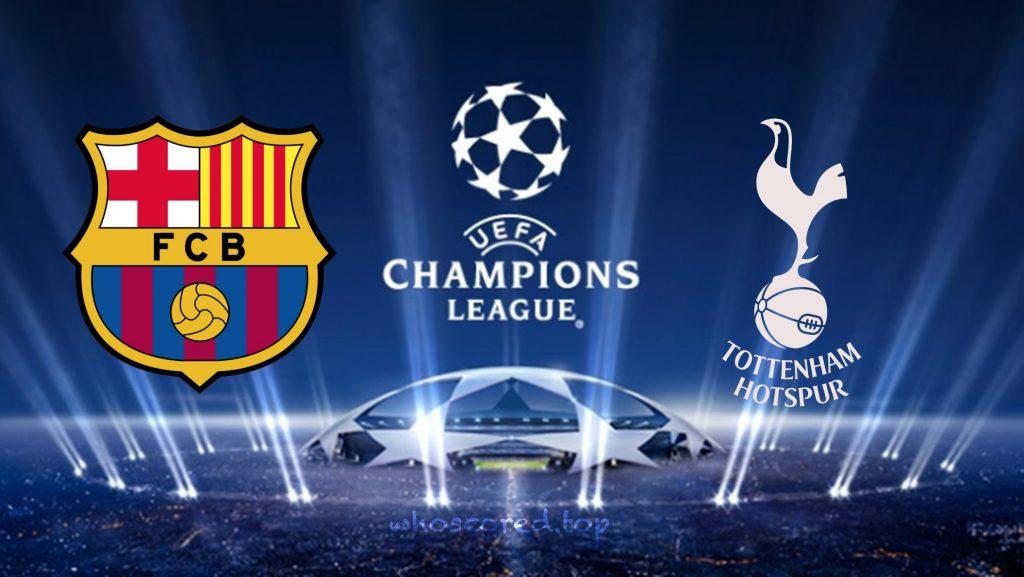 Tottenham Barcelona
