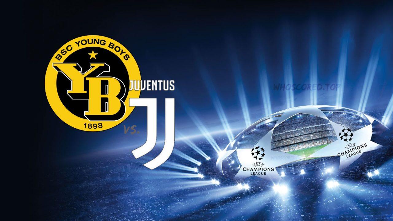Young Boys vs Juventus Champions League